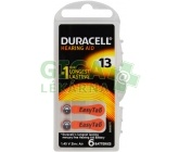 Baterie do naslouch.Duracell DA13P6 Easy Tab 6ks