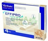 Effipro Spot-on Dog XL sol 4x4,02ml (červený 40-60kg)