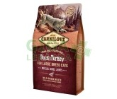 Carnilove Cat Adult Duck & Turkey Large B.Grain Fr 2kg