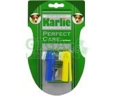 Zubní kartáček prstový - sada Karlie 2ks