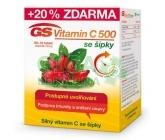 GS Vitamin C500 + šípky 50+10 tablet 2016
