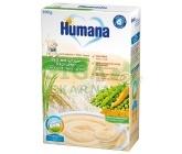 Humana obilná kaše rýžová s hráškem a mrkví 200g