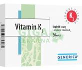 Vitamin K2 30 kapslí Generica