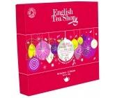 English Tea Shop Dárková kazeta Červené ozdoby BIO 96 sáčků