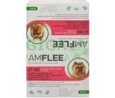 Amflee Spot-on Dog S sol 10x0,67ml (2-10kg)
