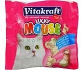 Vitakraft Lucky Mouse cat - mléko + kvasnice 40g