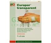 Náplast Curapor Transparent steril.7x5cm/5ks