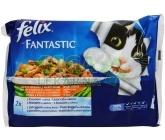Felix cat-Fant.Multipack výběr z ryb+zelenina  4x100g