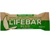 Obrázek Lifefood Lifebar Plus chia semínka a mladý ječmen BIO 47g