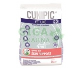 Cunipic VetLine Ferret Skin support 2kg