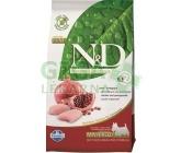N&D Grain Free Dog Adult Mini Chicken & Pom. 0,8kg