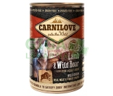 Carnilove WM konz. Lamb & Wild Boar Grain Free 400g