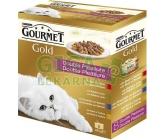 Gourmet Gold cat konz.-gril.k. Mix Multipack 7 + 1ks zdarma x 85g