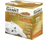 Gourmet Gold cat konz.-k.masa Exotic Multipack 7 + 1ks zdarma x 85g