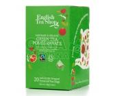 English Tea Shop Bio Zelený čaj Granátové jablko 20 pyramidek