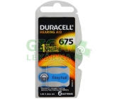 Baterie do naslouch.Duracell DA675P6 Easy Tab 6ks