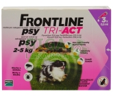 Frontline Tri-Act psi 2-5kg spot-on 3x1