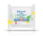 Johnson´s Baby wipes Pure Protect 25ks