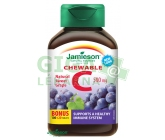 JAMIESON Vitamín C 500mg hrozn.víno cucací tbl.120