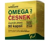 Obrázek Nefdesanté Omega 3 česnek 90 kapslí