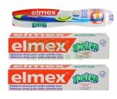 AKČNÍ SET: Elmex Junior - 2x zubní pasta 75ml + kartáček