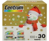 Centrum AZ s multi-efektem tbl. 100+30 Vánoční