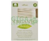Organyc čist. tyčinky z biobavlny 200ks