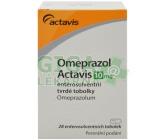 Omeprazol Actavis 10mg por.cps.etd.28x10mg