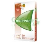 Nicorette Freshfruit Gum 2mg Léč.žvýk.guma 30x2mg