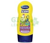 Bubchen Kids šampon a sprchový gel-veselí papoušci  230 ml