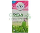 Veet voskové pásky Natural Inspirations s Aloe Vera 12ks