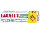 Lacalut white - zubní pasta bělící - 33% gratis 100ml