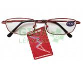 Brýle čtecí American Way +2.50 červené v etui