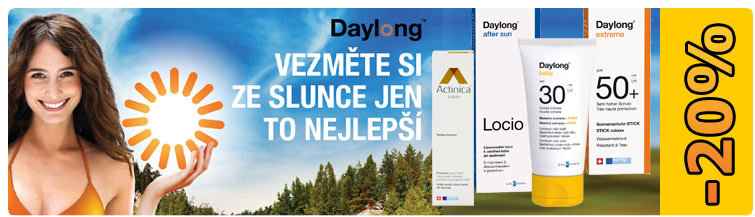 GigaLékárna.cz - Sleva 20 % na celý Daylong