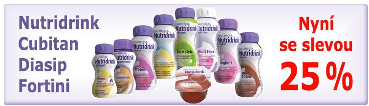GigaLékárna.cz - Nutridrinky se slevou 25 %