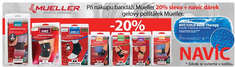 GigaLékárna.cz - Bandáže Mueller se slevou a dárkem