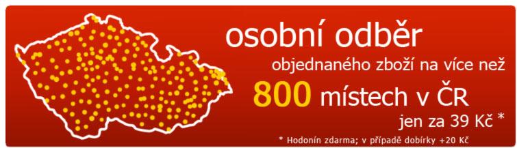 GigaLékárna.cz - 200 výdejních míst pro osobní odběr
