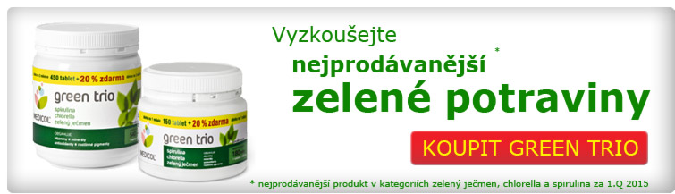 GigaLékárna.cz - GreenTrio