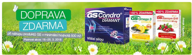 GigaLékárna.cz - Doprava zdarma na produkty GS