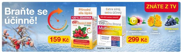 GigaLékárna.cz - GS vitamíny na zimu