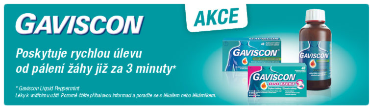 GigaLékárna.cz - Gaviscon