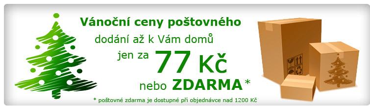 GigaLékárna.cz - Vánoční poštovné