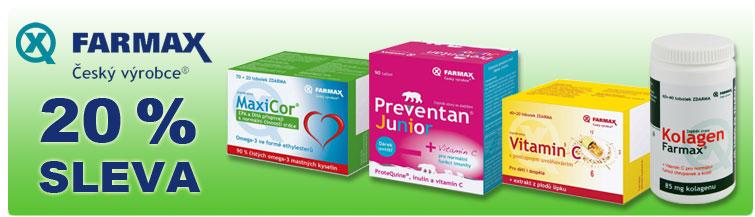 GigaLékárna.cz - Týden s Farmax - sleva 20 %
