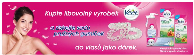 GigaLékárna.cz - Gumičky do vlasů zdarma k VEET