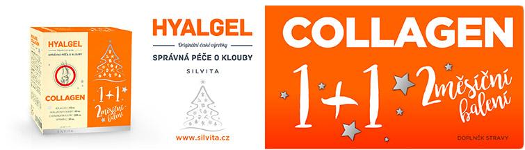 GigaLékárna.cz - Hyalgel Collagen 500ml 1+1