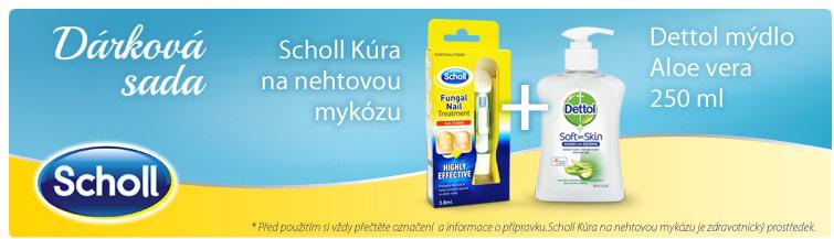 GigaLékárna.cz - Scholl akční set nehtová mykóza