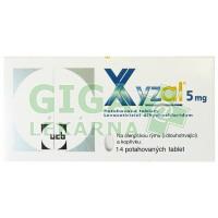Xyzal 14 tablet