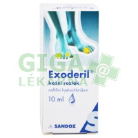Exoderil roztok 10ml