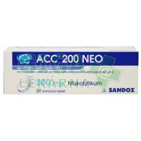 ACC 200 NEO 20 šumivých tablet
