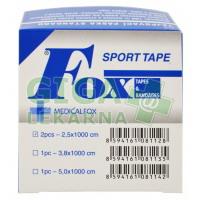 Tejpovací páska standard 2.5cm x 10m 2ks